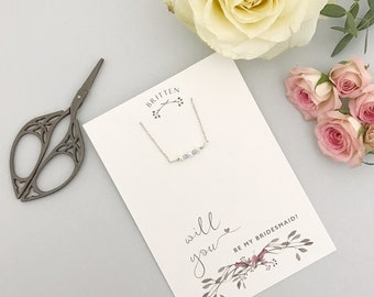 Will you be my bridesmaid bracelet, Will you be my bridesmaid gift