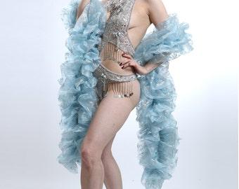 Frozen Snowflake Deluxe Organza Boa