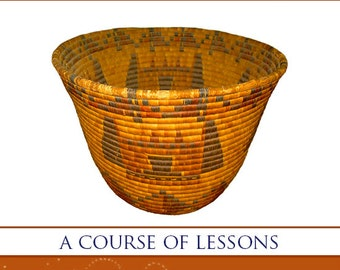 AMERICAN INDIAN BASKET Making Learn How To Make Native American Indian Baskets with This Rare Illustrated Tutorial Book 125 pgs Printable