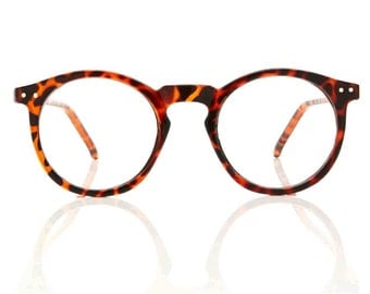 OMalley RX Round Tortoise Glasses X American Deadstock Vintage Glasses