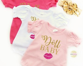 Baby Girl Outfit, New Baby Gift, Baby Shower Gift, Newborn Baby Clothes, Baby Girl, Doll Baby
