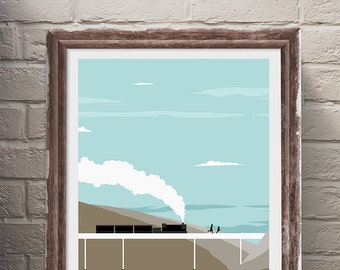 Stand By Me Movie Travel Poster Print