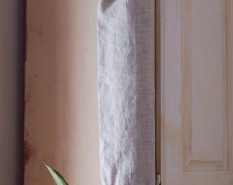 Linen Plastic Bag Holder / Grocery Bag Holder / Natural Linen