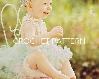 Crochet Crown Pattern - Crochet Pattern - Girl Crown - Princess Tiara - Photo Prop -Instant Download - Baby Crown - Child Crown - All Sizes