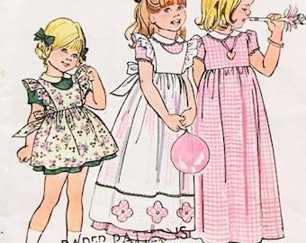 Simplicity 6686 Girls Size 5 Dresses
