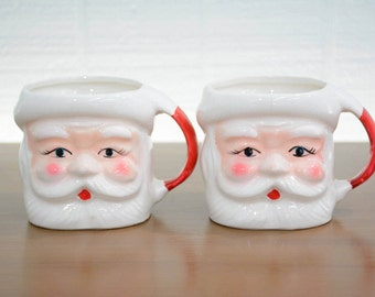 1960's Santa Face Mug - Made in Japan