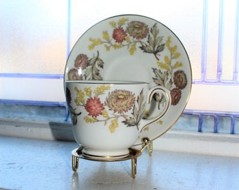 Vintage Wedgwood Lichfield Cup and Saucer