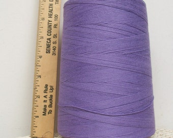 Coats American Cotton CONE THREAD Heavy Duty Tex 150 Deep Lilac USA Sewing Jewelry Tassels Leather Craft