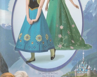 Adult Frozen Costume Pattern Simplicity 1094 Sizes 14 - 22 Uncut