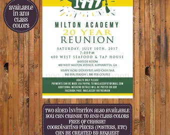 reunion invitation