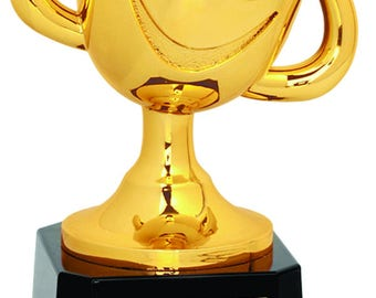 Tiny Tots Happy Cup Soccer Trophy, Soccer Trophy, Happy Cup Trophy, Soccer Award, Boys Soccer Trophy, Girls Soccer Trophy