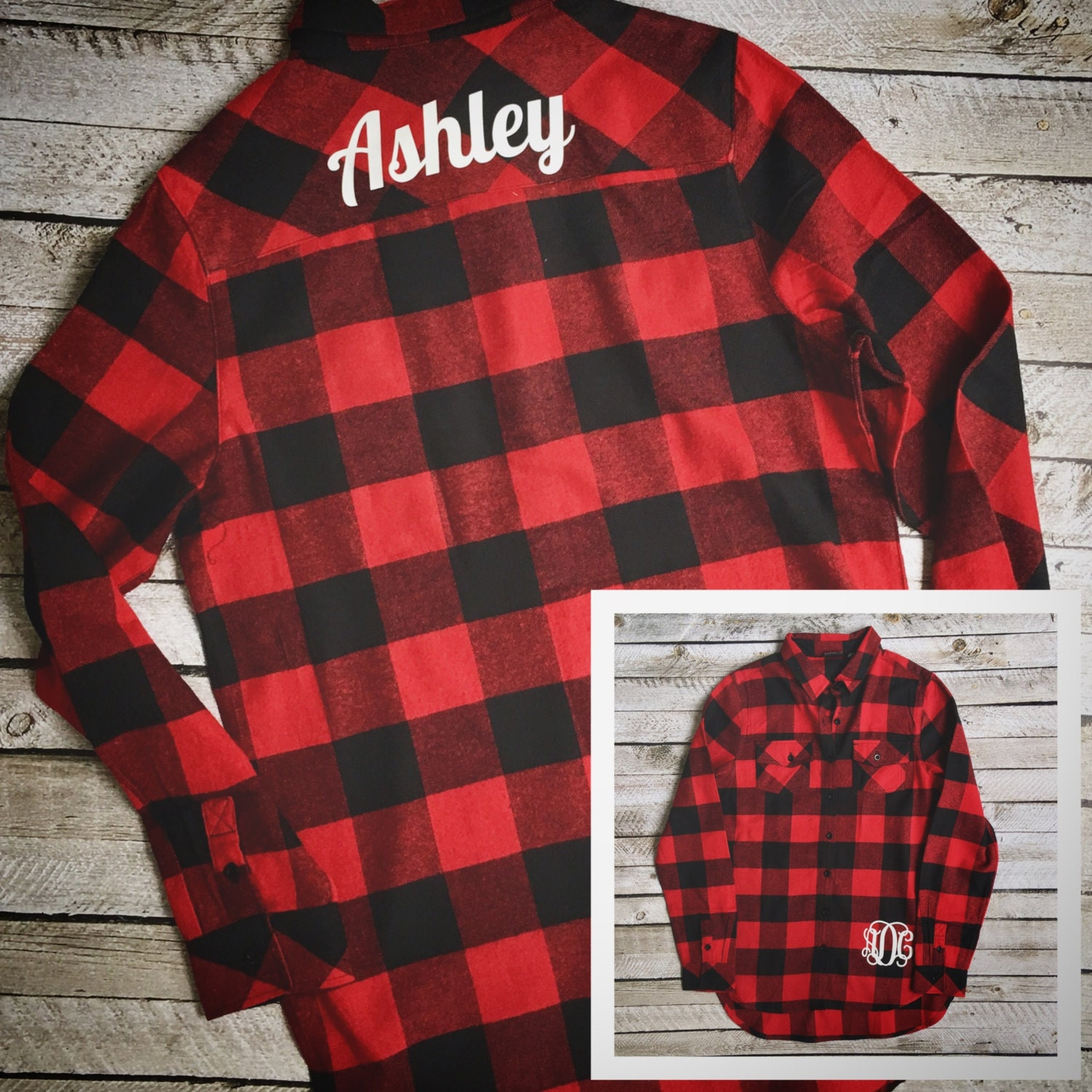 monogrammed flannel shirts  monogrammed buffalo plaid flannel shirts  monogrammed shirts