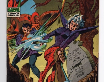 """Doctor Strange Vol. 1  #176 - """"O Grave, Where Is Thy Victory"""" - Marvel Comics, Silver Age Comic - VF/NM 9.0 Condition"""