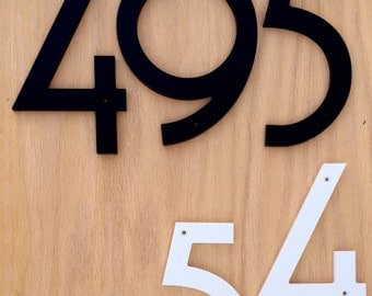 "6"" Art Deco House Numbers Letters"