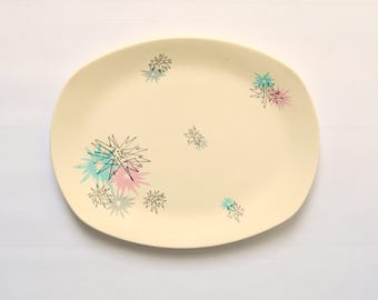 Midwinter Stylecraft Quite Contrary Serving Plate Designed by Jessie Tait