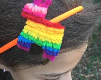 Piñata felt headband