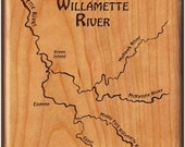 WILLAMETTE RIVER MAP Fly ...