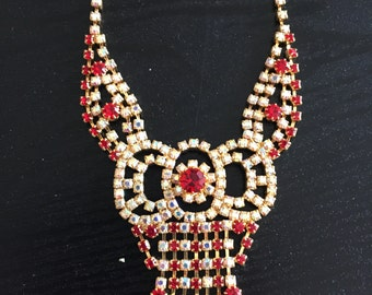 Red for Valentine/Wedding/mehendi, unique jewelry, bridal jewelry, special occasion, gifts for her