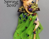 OOAK Art Doll Sculpture - Spring 2016 - Fairy Faun by Ksheyna Nightswood