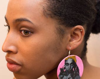 Josephine Baker Sparkle Pop Classic Icon Earrings-Birthday-Gifts for Her