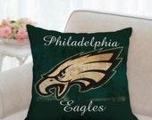 Football Pillow  Philadelphia Eagles