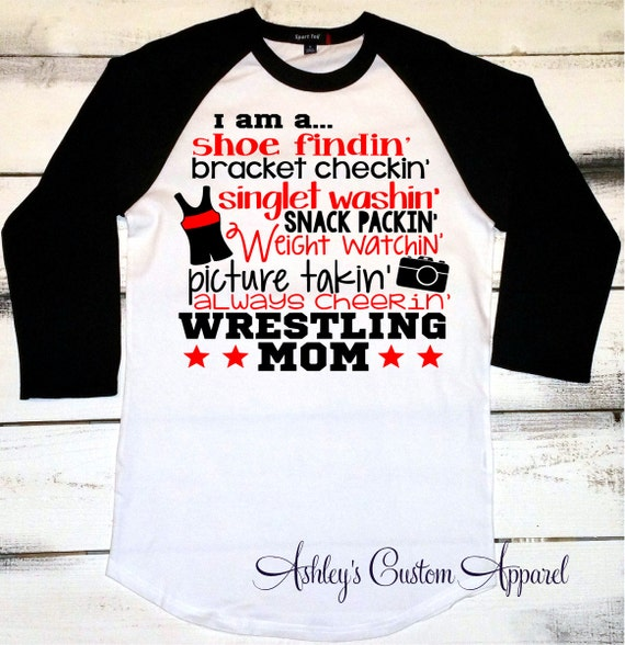 Wrestling Mom Wrestler 39 S Mom Shirt Proud Wrestlers Mom