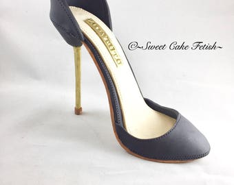 Gumpaste High Heel Shoe/ Cake Topper//sugar shoes/Fondant shoe//
