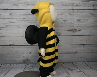 Bumblebee Fleece Baby Costume