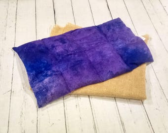 Large Heating Pad - Microwavable Heat Pad and Ice Packs, Aromatherapy Pillow, Heat Pad, Flax Heating Pad, Black Heating Pad, Heating Pack