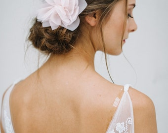 "Wedding,Bridal Silk Hair Flower, Headpiece-""Violetta - Coloré"""