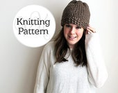Knitting Pattern Hillsboro Hat Instant Download