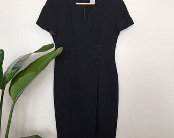 Black VINTAGE Liz Claiborne Dress