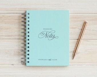Wedding Planner Book Wedding Journal Book Engagement Journal personalized Wedding planning book Wedding gift wedding binder wedding book