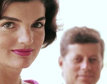 John F. Kennedy, , John & Jackie Kennedy taken in 1960