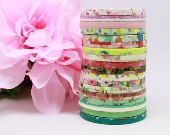 Skinny Floral Washi Tape, Slim Floral Washi, Thin Masking Tape, Cute Thin Washi, Decorative Craft Tape, Planner Washi Tape, Bujo Washi Tape