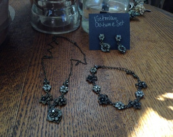 Victorian Jewelry Set -Reproduction