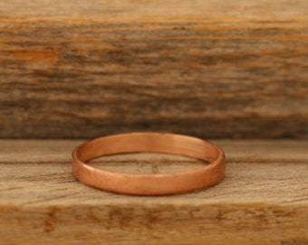 3mm Antique Finish Copper Band