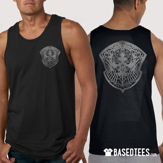 Gladiolus Crownsguard Tank Top and T-shirt (Front & Back printed)