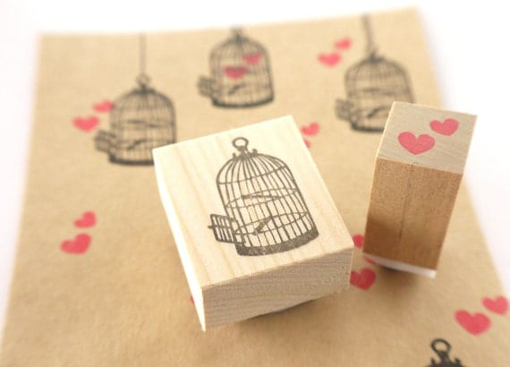 ... Wedding invitation stamp, Japanese stationery, Gift for couple, Rubber