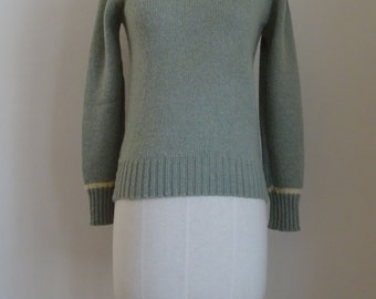 70's Sweater Northern Isles Pullover 70% New Zealand Wool and Acrylic Sweater Medium