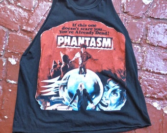 Phantasm Distressed Slashed T-shirt