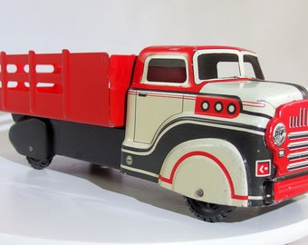 Vintage Marx 1950's Stake Truck