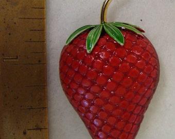 Giovanni strawberry brooch