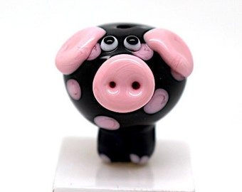 Pig Sophie  black light opak pink
