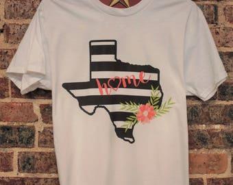 CHEETAH LEOPARD TEXAS Animal Print Black on Black Heather Boho Baseball Raglan Ladies TShirt Womans Teen T Shirt Tee OsKMjW5