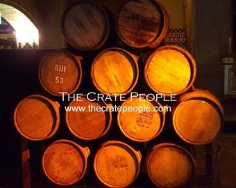 used/retired WHISKEY & WINE Barrels