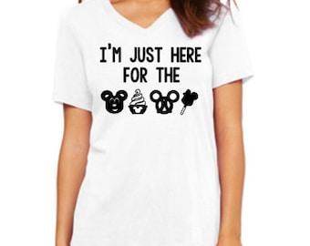 Disney Shirts // Disney Snacks Shirt // Disneyland // Run Disney // Disney shirts for women // Mickey Bar shirt