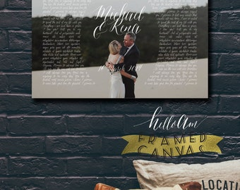 Engagement gifts for couple - anniversary gifts for men - first wedding anniversary gift for him - 1st anniversary gift for husband - vows
