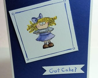 Got Cake?... Humorous Birthday Card