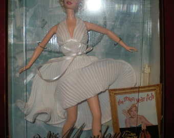 Marilyn Monroe Seven Year Itch Barbie Still In Box 1997 Barbie Collectibles
